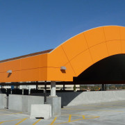 LUMIFLON FEVE Resin, Sorensen Station Parkade and Transit Terminal, Mitsubishi Plastics Composites America, 2