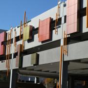 LUMIFLON FEVE Resin, Sorensen Station Parkade and Transit Terminal, Mitsubishi Plastics Composites America, 4