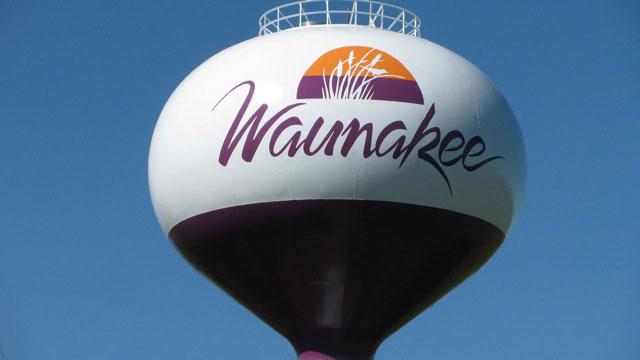 Waunakee Elevated Water Tank, Wisconsin, Tnemec, LUMIFLON USA, Photography Tnemec