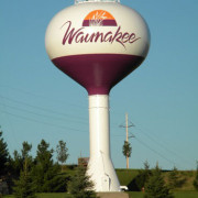 LUMIFLON FEVE Resin, Waunakee Elevated Water Tank, Tnemec, Architecture