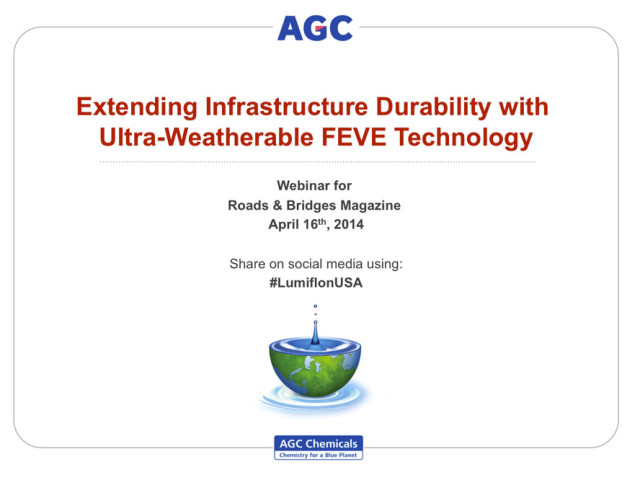 LUMIFLON USA, Extending Infrastructure Durability with FEVE Coating Technology Webinar