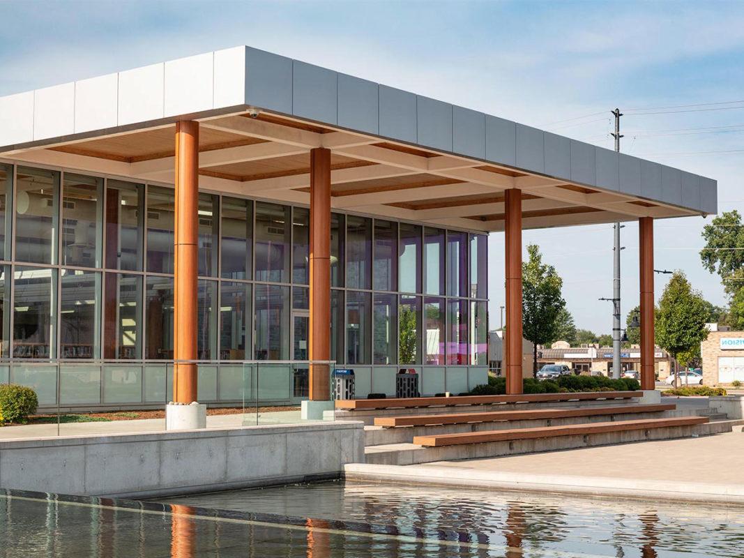 LaSalle Civic Center, Ontario, Canada, JP Thomson Architects, ALPOLIC, Photography ACM Panelworx