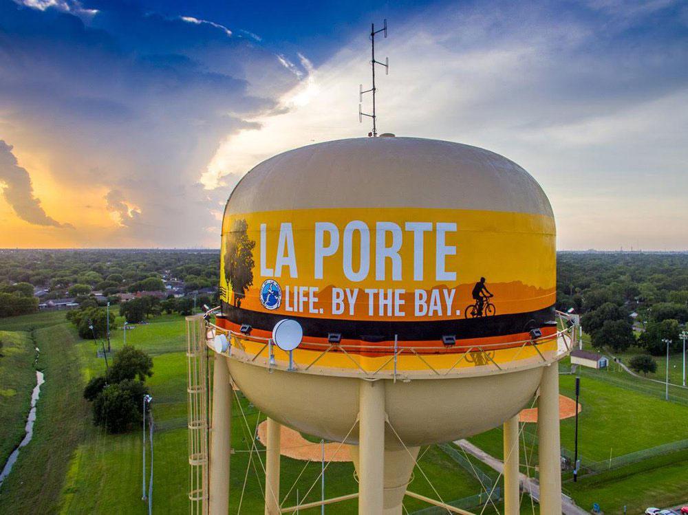 La Porte, Water Tank, Texas, Tnemec Company Inc, Hydroflon