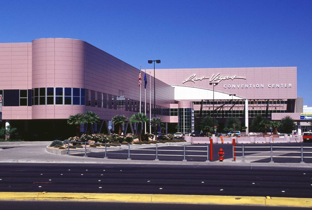 Las Vegas Convention Center Nevada Techno Coatings Tnemec Fluoronar Lumiflon FEVE Resin