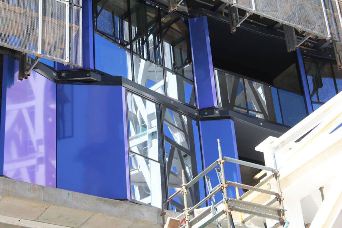 Light House Apartments Melbourne Elenberg Fraser Hengyi Alucobond Plus Spectra Violet Lumiflon FEVE Resin