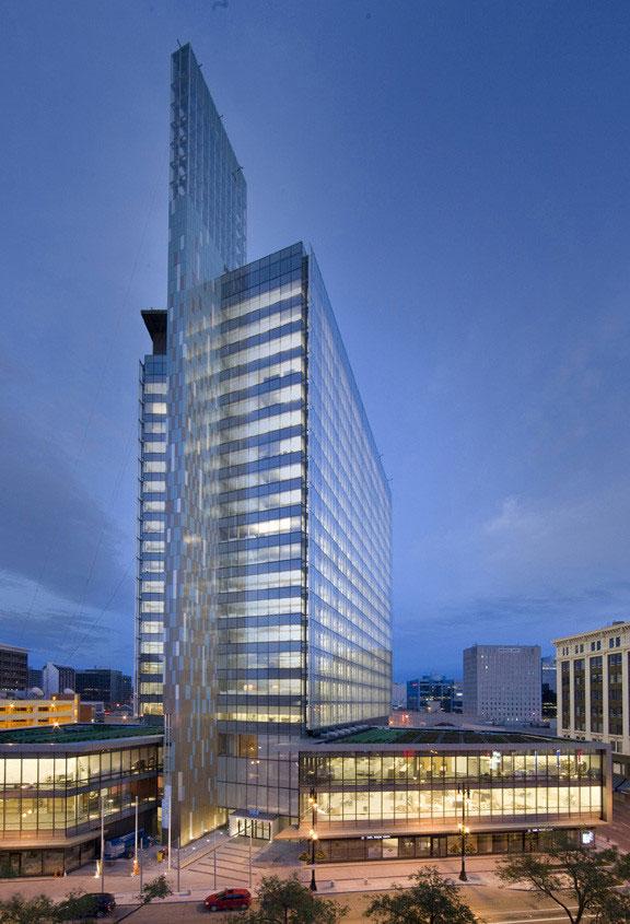 LEED Platinum Headquarters Features A Lumiflon Topcoat On