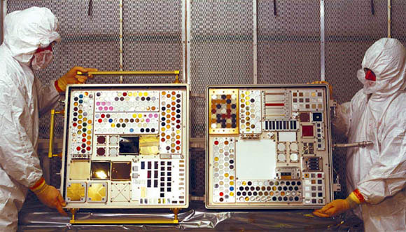 Materials International Space Station Experiments, NASA, 1