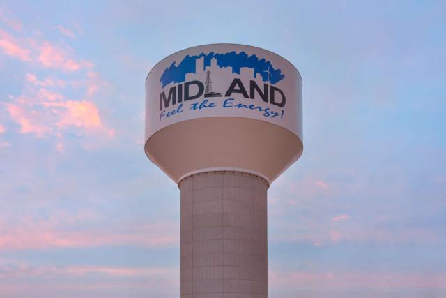 Industrial Coatings, Tnemec, Midland Water Tank, FEVE Resins, Lumiflon, Fluoropolymers