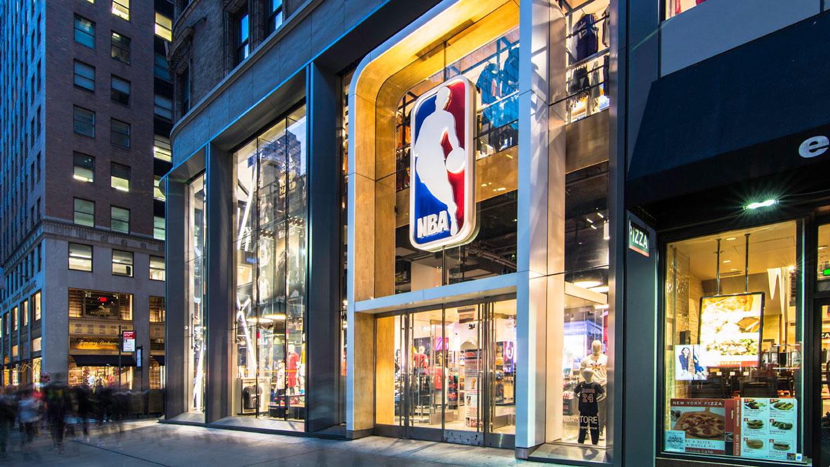 NBA Flagship, Gensler, Kurt Salmon, TAD Associates, Pure Freeform, Lumiflon FEVE Resin, Joe Brennah