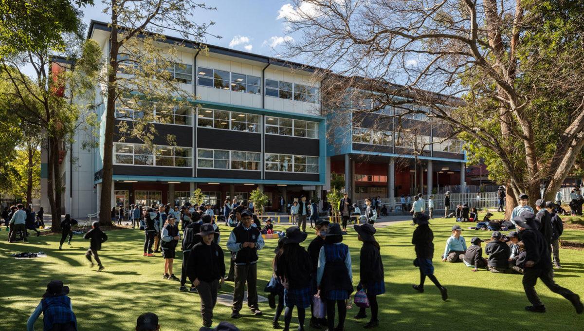NBRS ARCHITECTURE, Waitara Public School, NSW