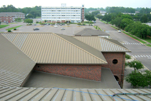 Bandys High School, Roofing, Lumiflon, Coraflon, All-Tech Decorating, Roof Restoration