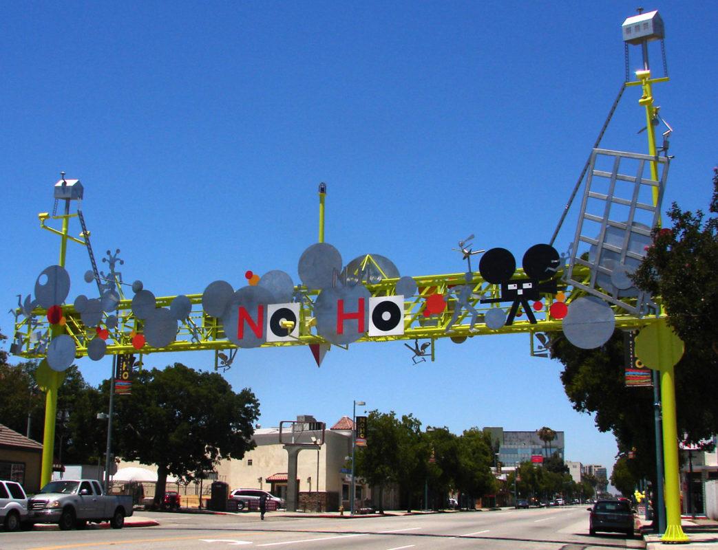 NoHo Gateway Los Angeles Hollywood Fluoronar Tnemec FEVE Lumiflon