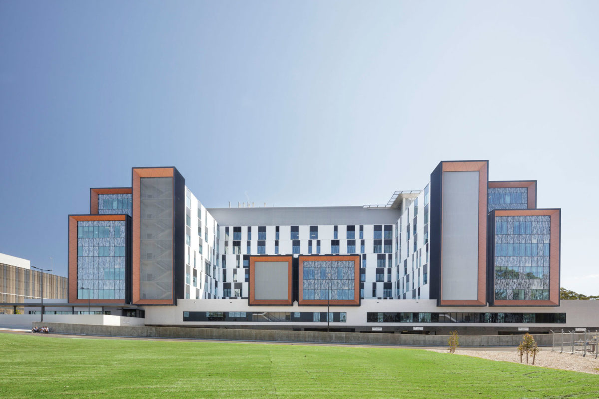 Northern Beaches Hospital, Frenchs Forest, Australia, BVN Architecture, Photography John Gollings