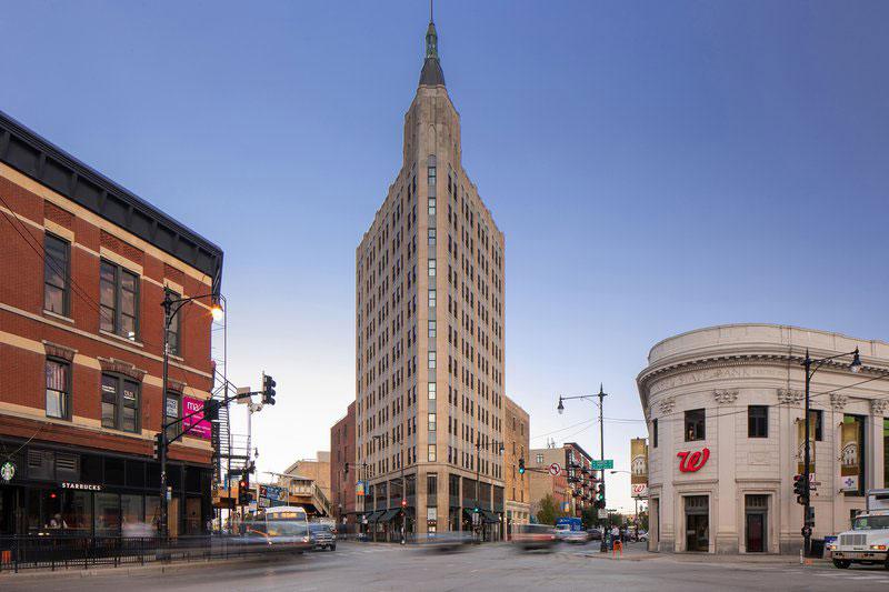 Northwest Tower, The Robey Hotel, Tnemec, Chicago, Restoration, Fluoronar