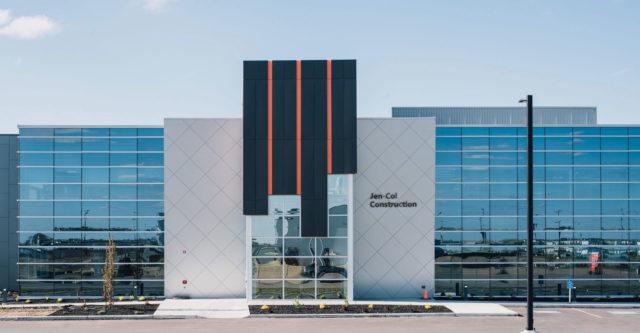 ONPA Architects, Jen Col Construction Corporate Office, IMARK Metal