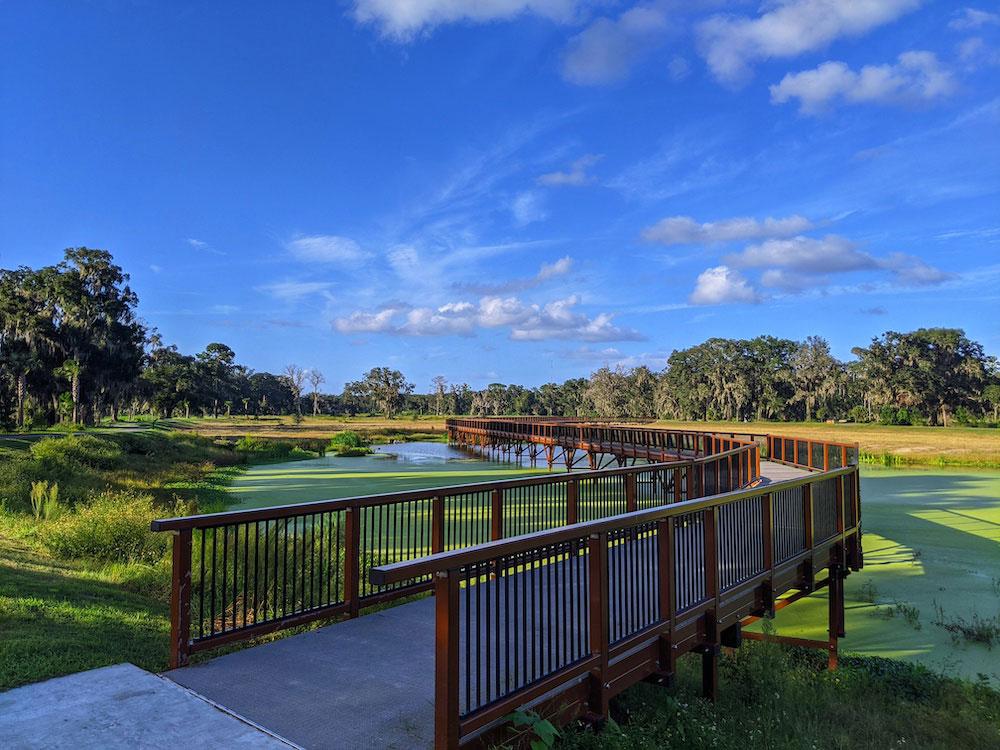 Ocala News, Pine Oaks Wetlands Boardwalk, City of Ocala, Wetland Recharge Park
