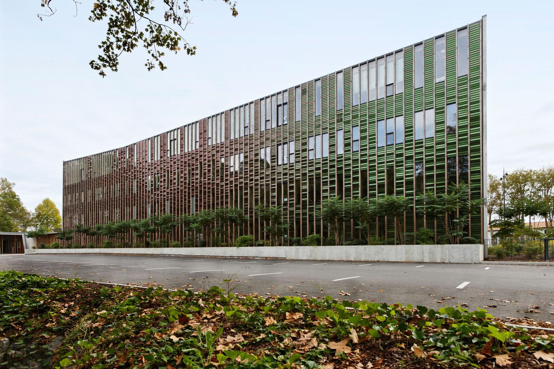 Office 64 de IHabitat, Bayonne, France, Patrick Arotcharen Architecte, Photography Vincent Monthiers