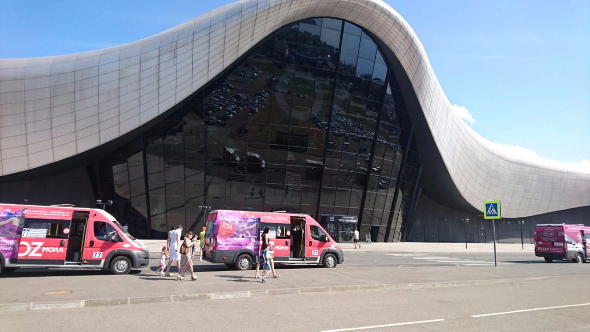 oz mall Krasnodar Russia group dyer architects Alpolic acm lumiflon feve
