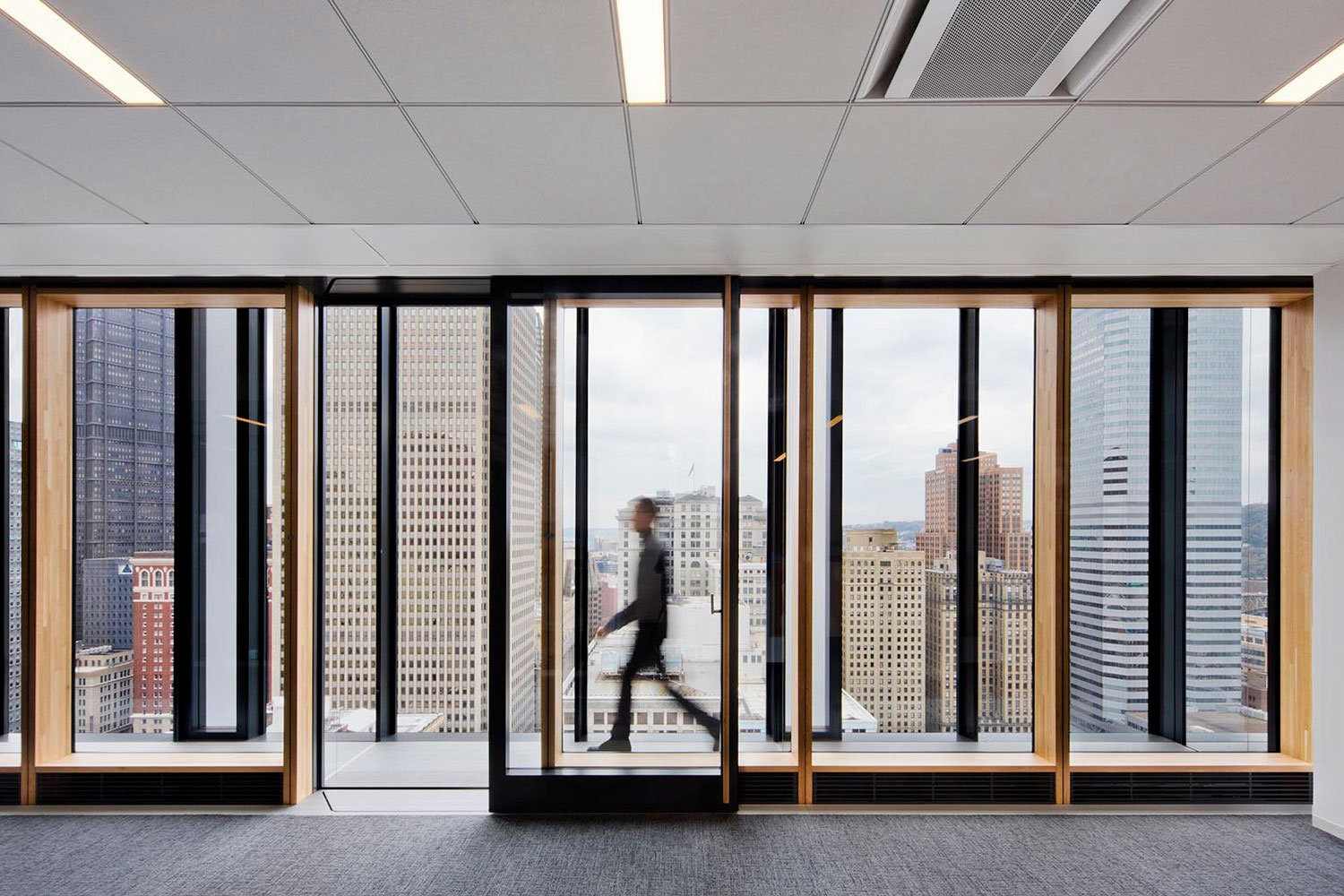PNC Tower, Gensler, Pittsburgh, PA, Photography Gensler Connie Zhou