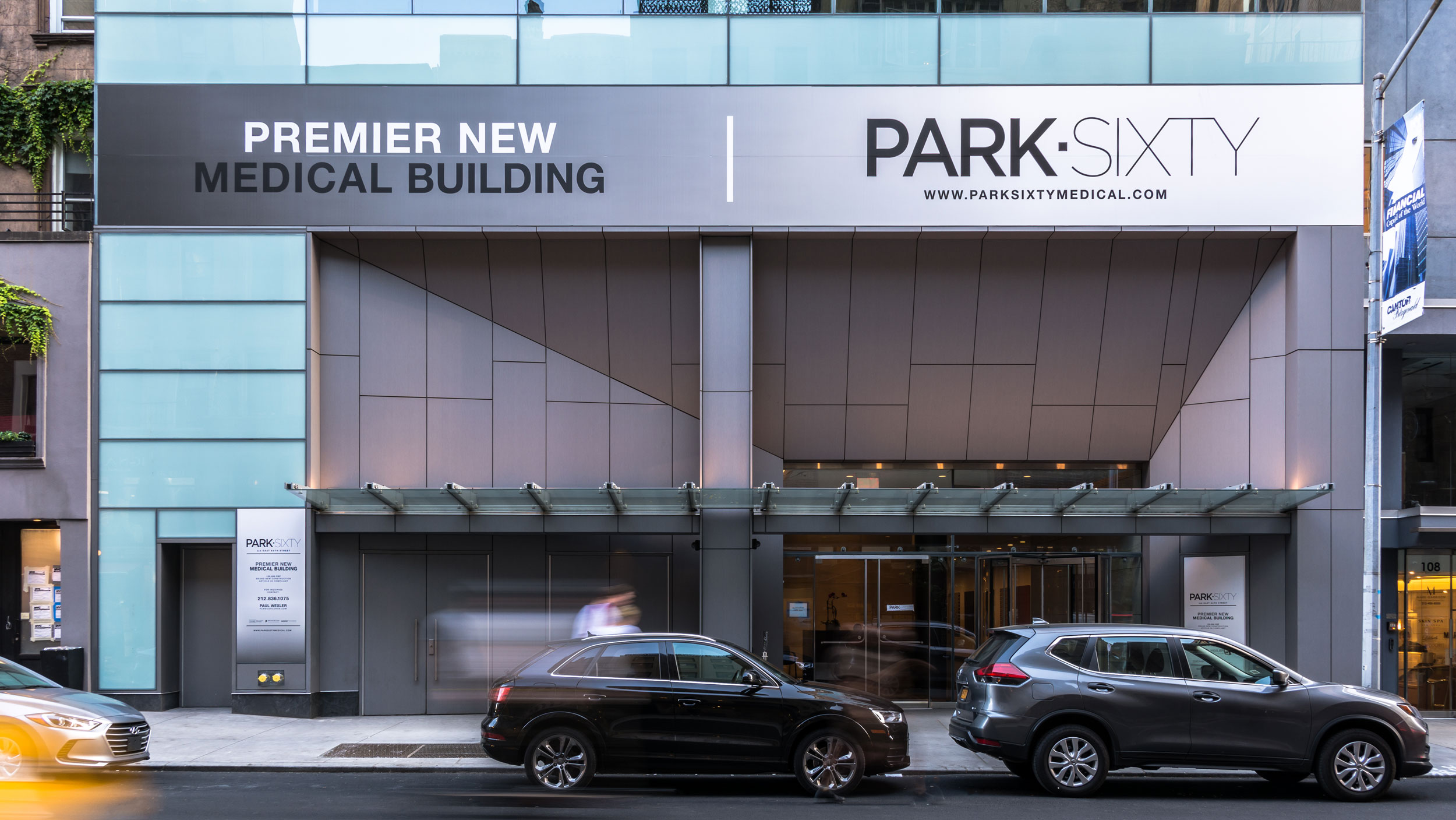 Park Sixty Medical Building, New York, Perkins Eastman, Pure Freeform, Lumiflon USA, Joe Brennan Photo Video