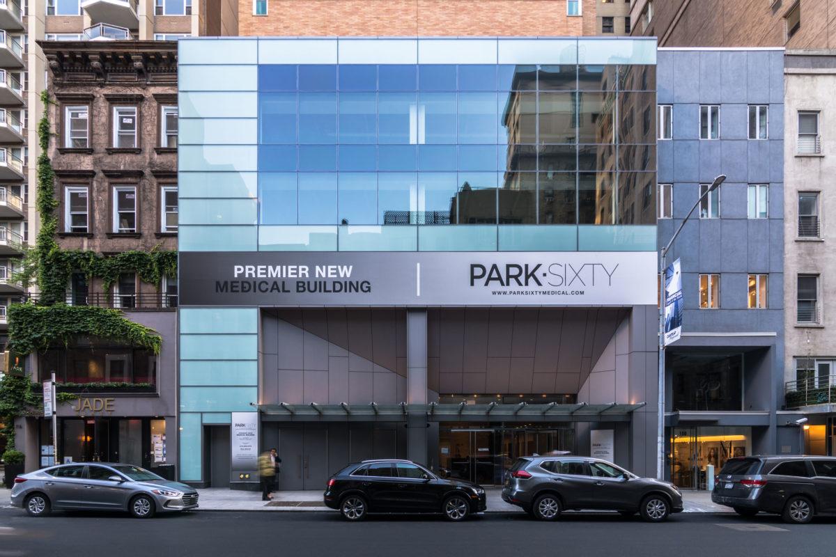 Park Sixty Medical Building, New York, Perkins Eastman, Pure Freeform, Lumiflon USA, Joe Brennan Photo Video