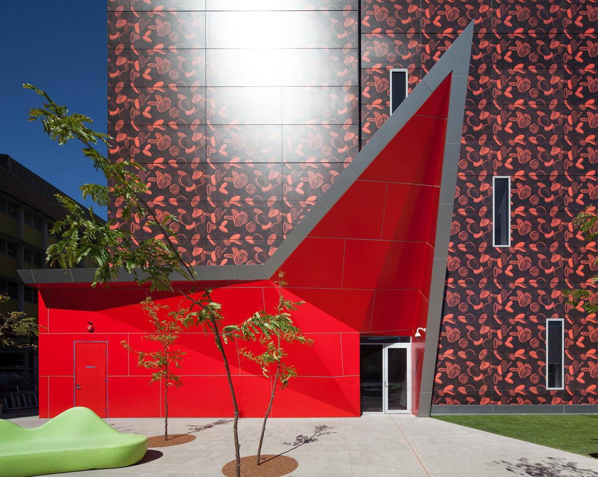 PathWest Laboratory QEII Medical Center Nedlands West Australia JCY Architects AI Coatings Vitreflon Lumiflon FEVE Resin