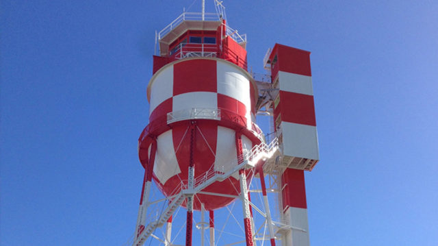Pearl Harbor Harbor Control Tower Sherwin Williams Fluorokem Lumiflon FEVE Resin