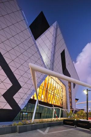 Perth Arena, ARM Architects, Lumiflon, FEVE Resin