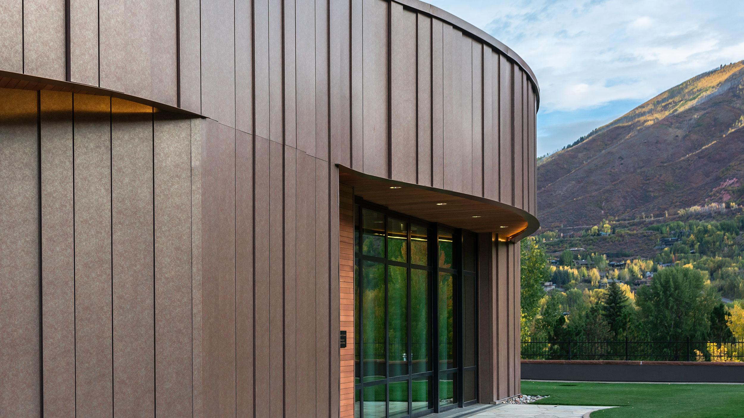 Pitkin County Library, Aspen, Snowdon Hopkins Architects, Pure Freeform, LUMIFLON USA, Photography Joe Brennan