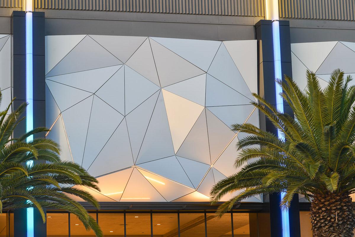Porte Cochere, Los Angeles, CA, Houston Tyner, Alucobond PLUS, Daniel Lunghi Photography, 3A Composites USA