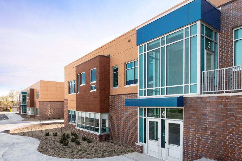 Quora Education Center, Little Canada, Lawal Scott Erickson, Alucobond, 3A Composites USA, Spectra, Photography Mark Kempf