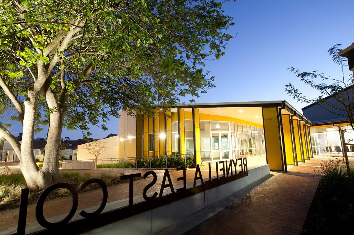 Reynella East College Adelaide Australia Russell And Yelland Architects Vitragroup Vitrapanel AI Coatings Vitreflon Lumiflon FEVE Resin