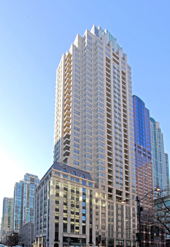 Ritz Carlton Chicago Illinois Lucien Langrange Studio IFS Coatings IFS 500FP Lumiflon FEVE Resin
