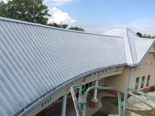 Roof_Restoration_Lumiflon_Gladeville_Elementary_07