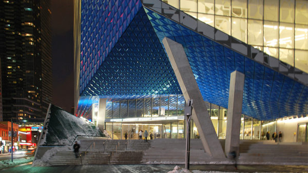 Ryerson University Student Learning Centre, Toronto, Zeidler Partnership Architects, Snohetta, Lumiflon FEVE, Valflon, Valspar, ALPOLIC Materials