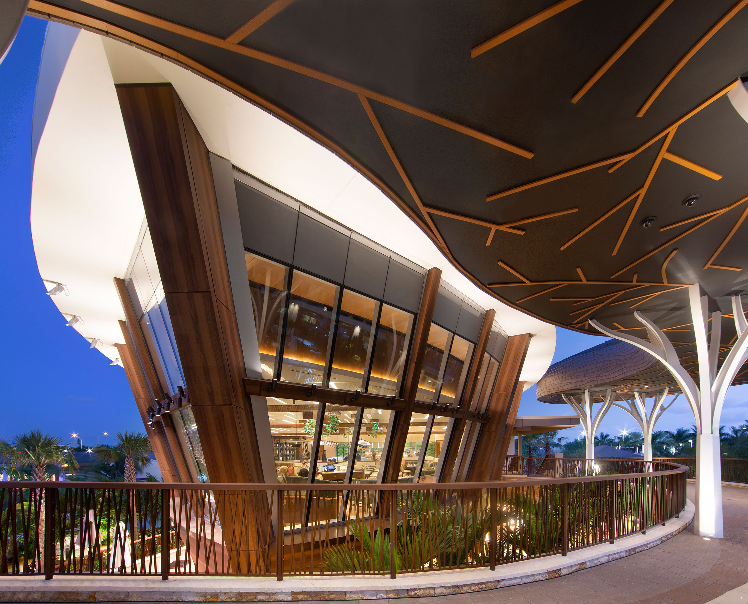 Seminole Hard Rock Hotel Casino Hollywood, Florida, Pure Freeform, Lumiflon FEVE Resin