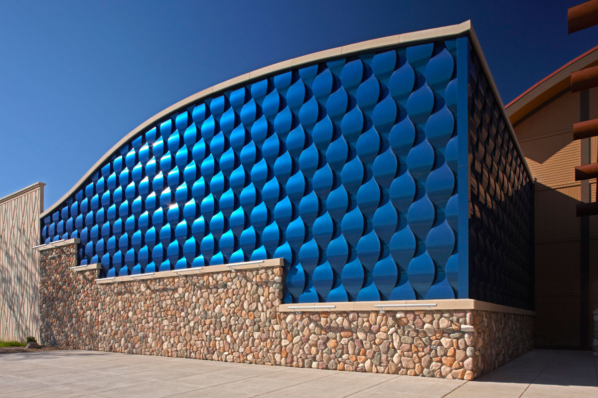 seven clans casino red lake minnesota dsgw architects acm alucobond spectra