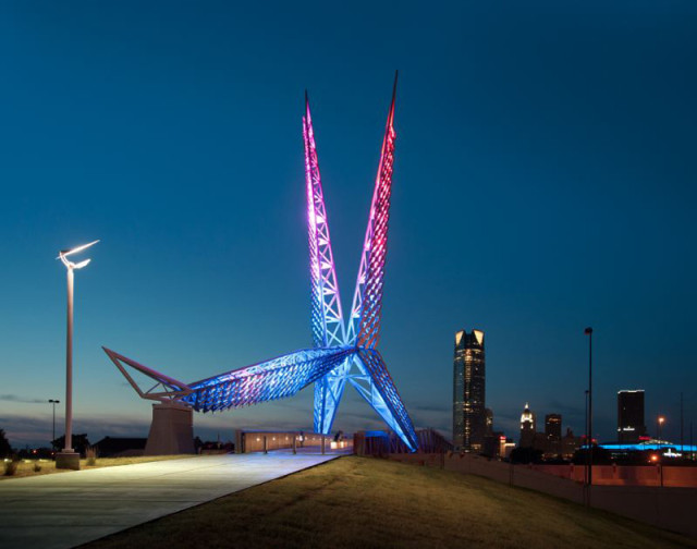Bridges, Design, Oklahoma City, Industrial Coatings, Tnemec, City Sentinel