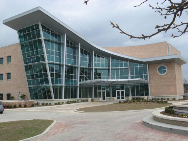Slidell cancer center Louisiana slidell memorial hospital ae design altech panel systems llc applicated images Alpolic acm lumiflon feve resin