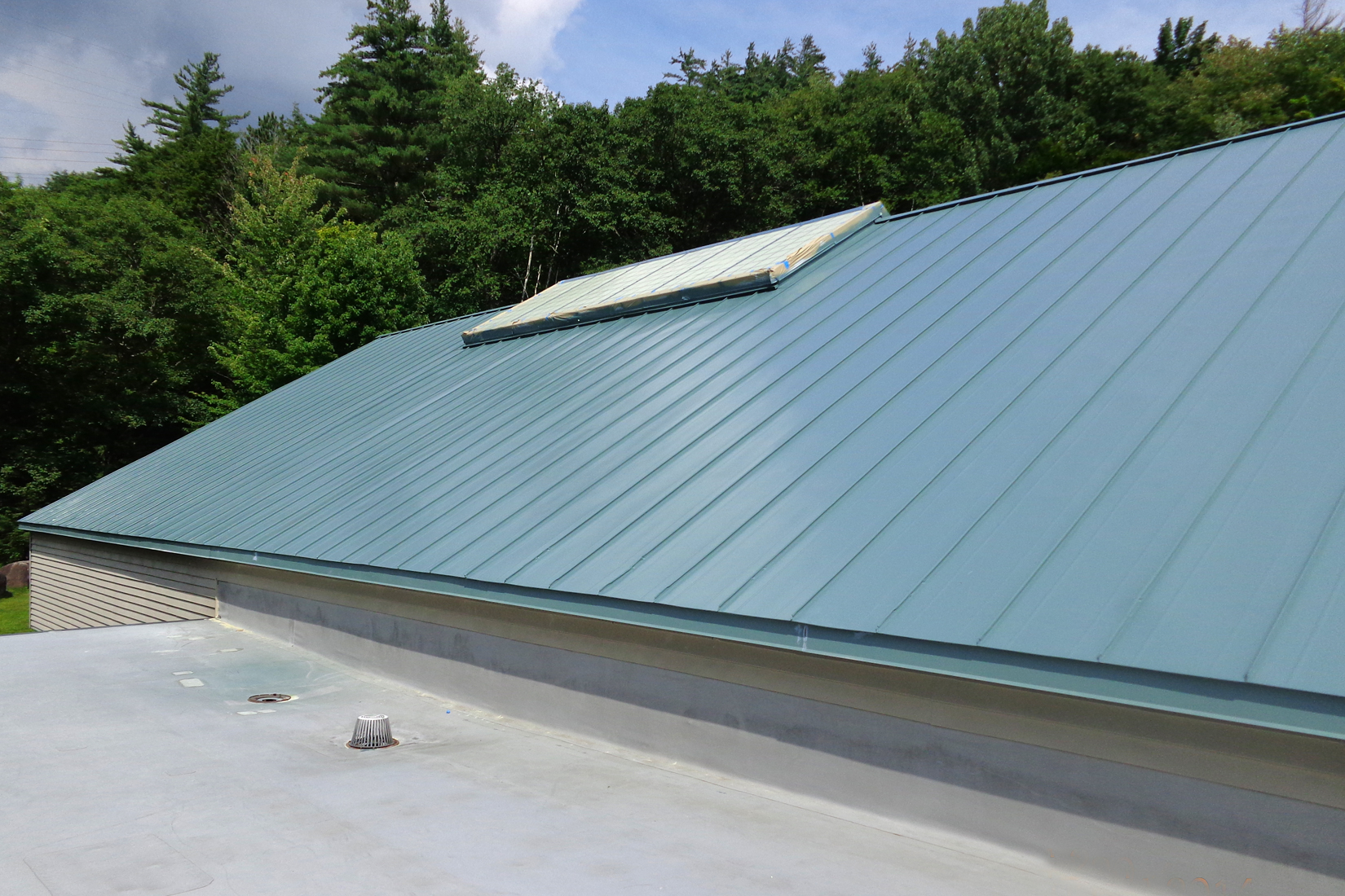 Lumiflon feve resins are the subject of school roof for Does new roof affect appraisal