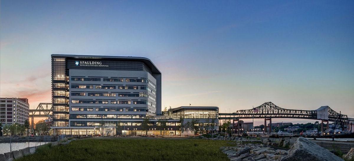 Spaulding Rehabilitation Hospital Boston Massachusetts Tnemec Fluoronar Will+Perkins Lumiflon FEVE Resin Coatings
