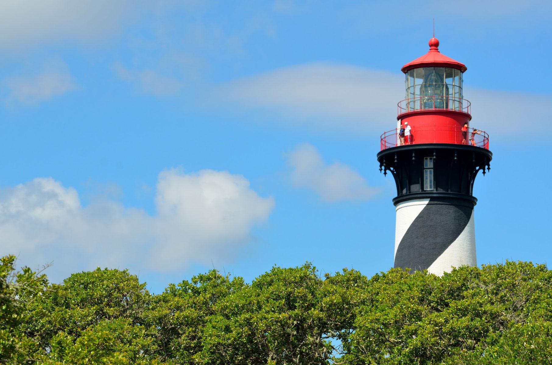 St Augustine Lighthouse Florida Tnemec Fluoronar Lumiflon FEVE Resin