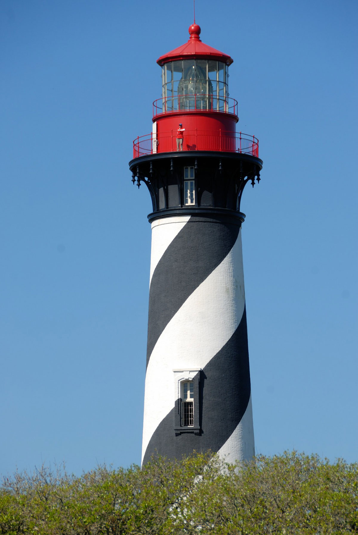 St Augustine Lighthouse Florida Tnemec Fluoronar Lumiflon FEVE Resin