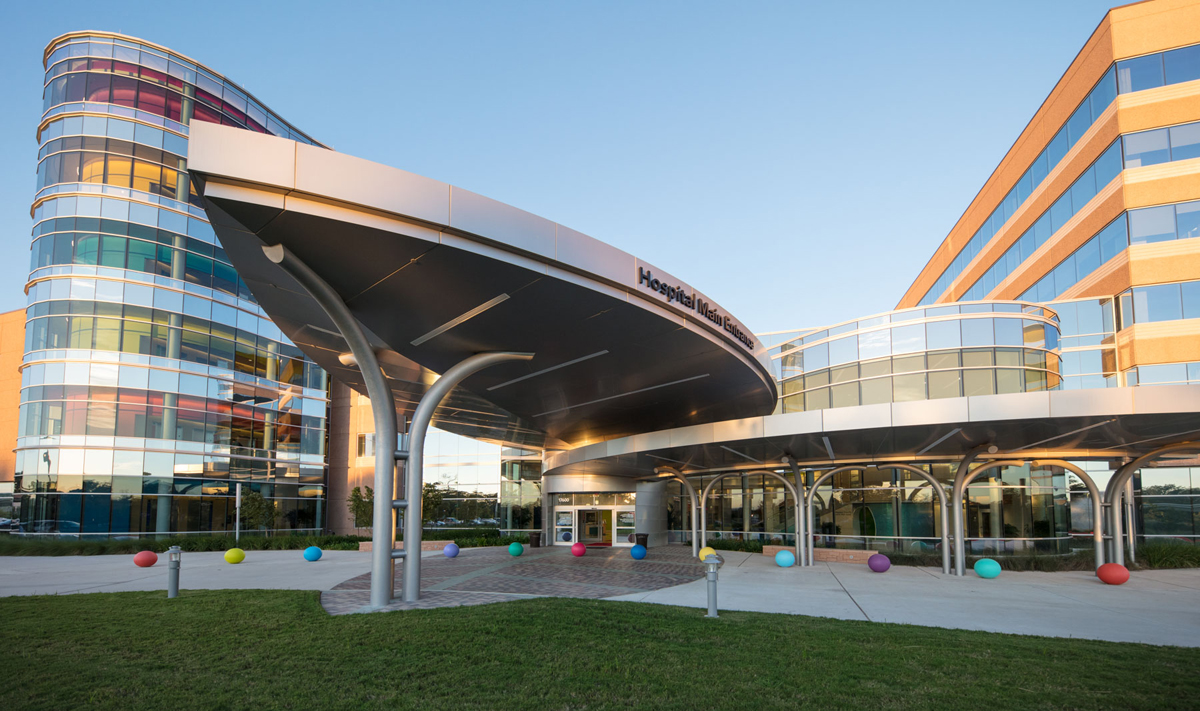 Texas Children's Hospital FKP Architects Bryne Metals ALPOLIC Lumiflon FEVE Resin