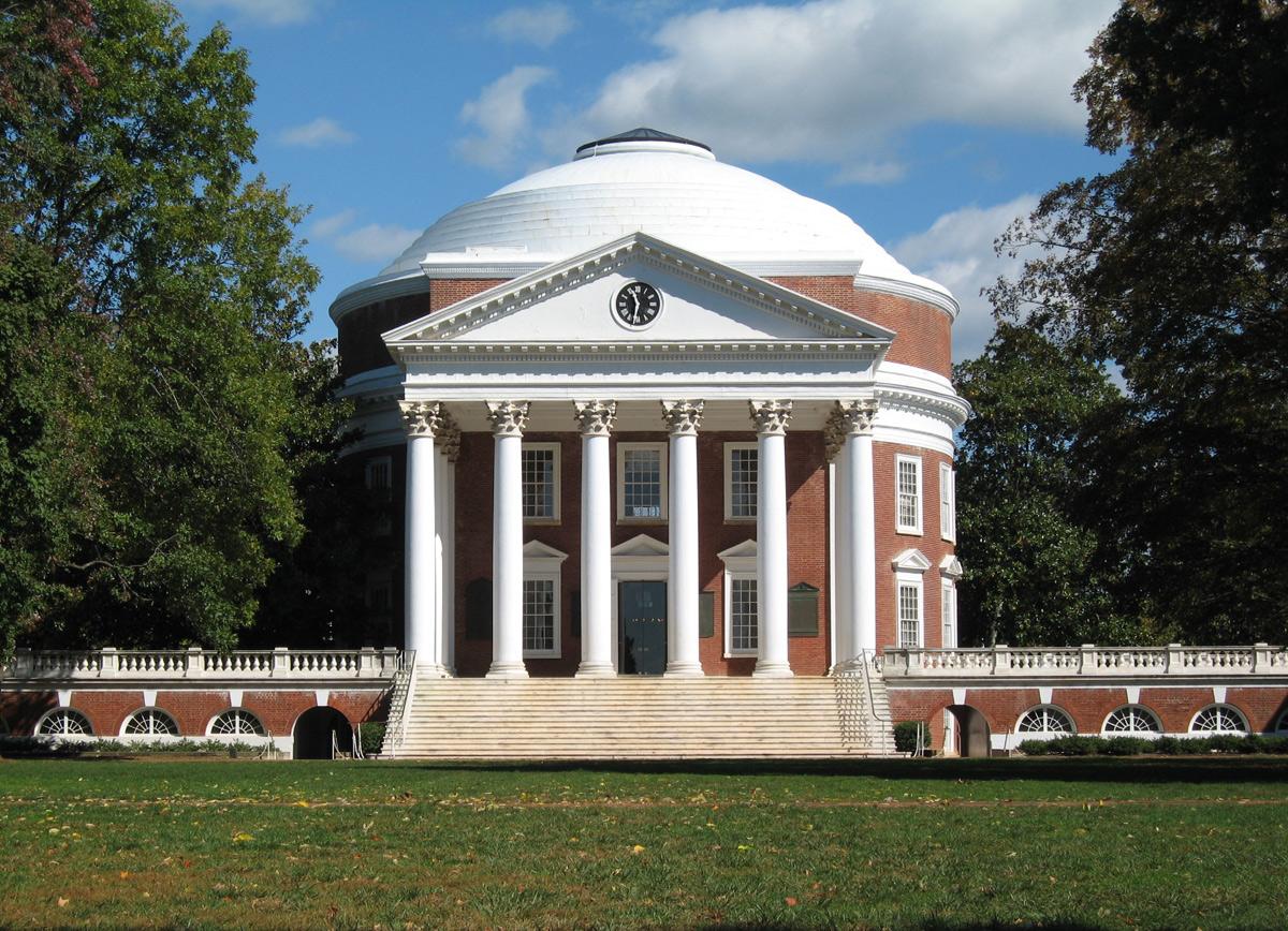 UVA Rotunda Charlottesville Virginia PPG Coraflon Lumiflon FEVE