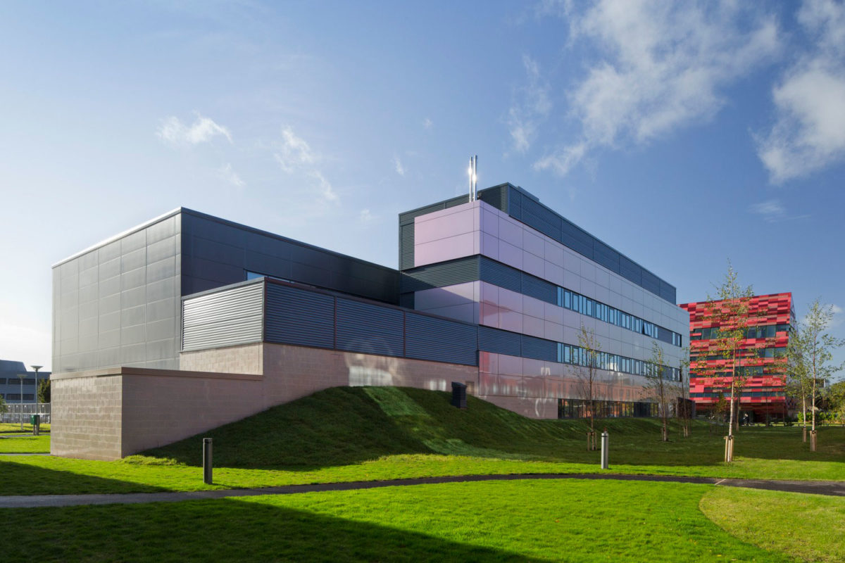 University of Nottingham, Energy Technologies Building, ETB, Maber Architects