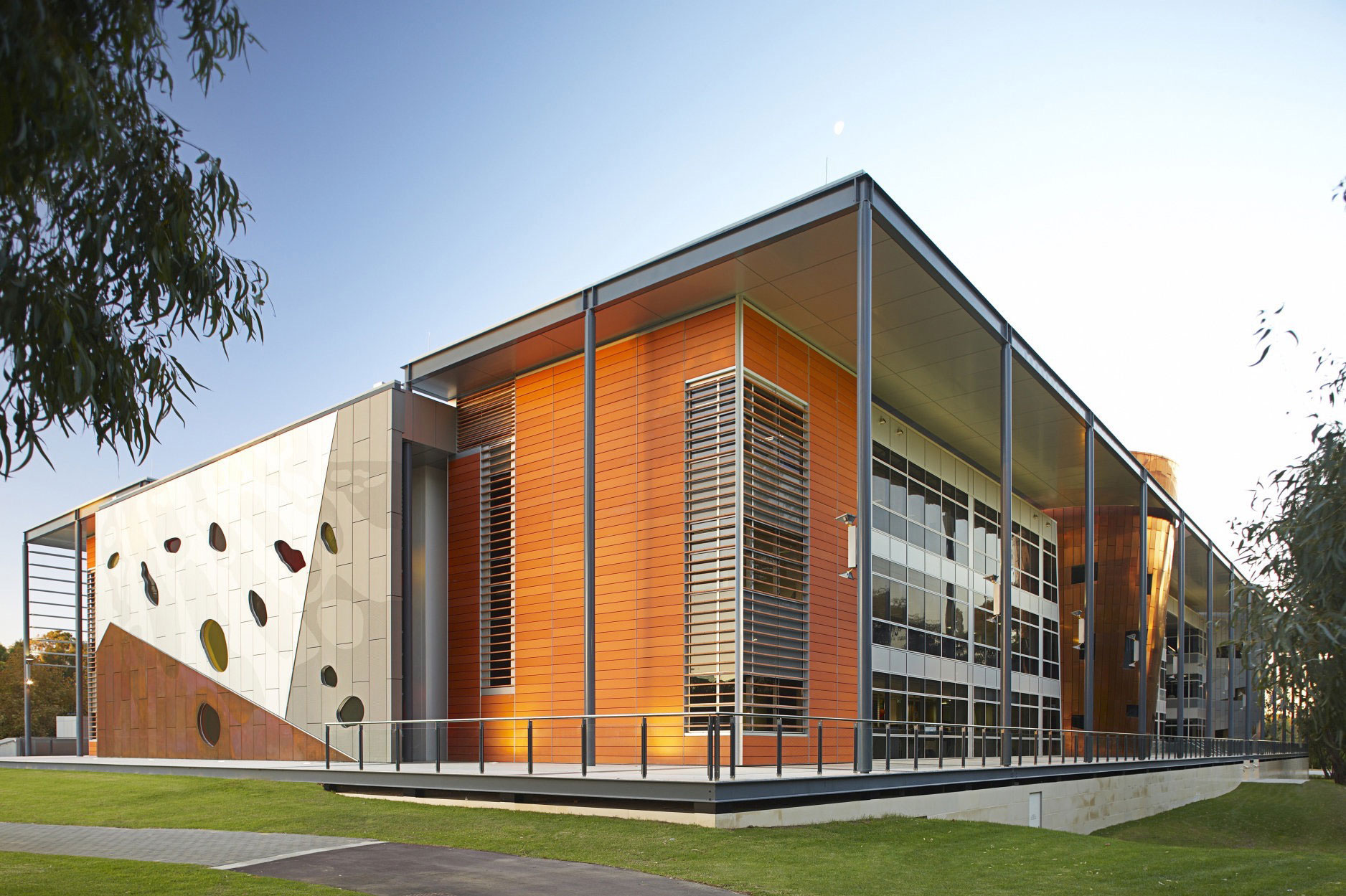 University of Western Australia Business School, Woods Bagot, Perth