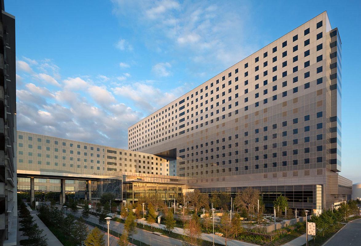 Valspar, Dallas, Parkland, Hospital, Construction, Project, Valflon, Lumiflon, FEVE