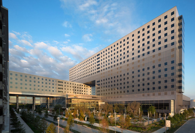 Valspar, Dallas, Parkland, Hospital, Construction, Project, Valflon, Lumiflon, FEVE