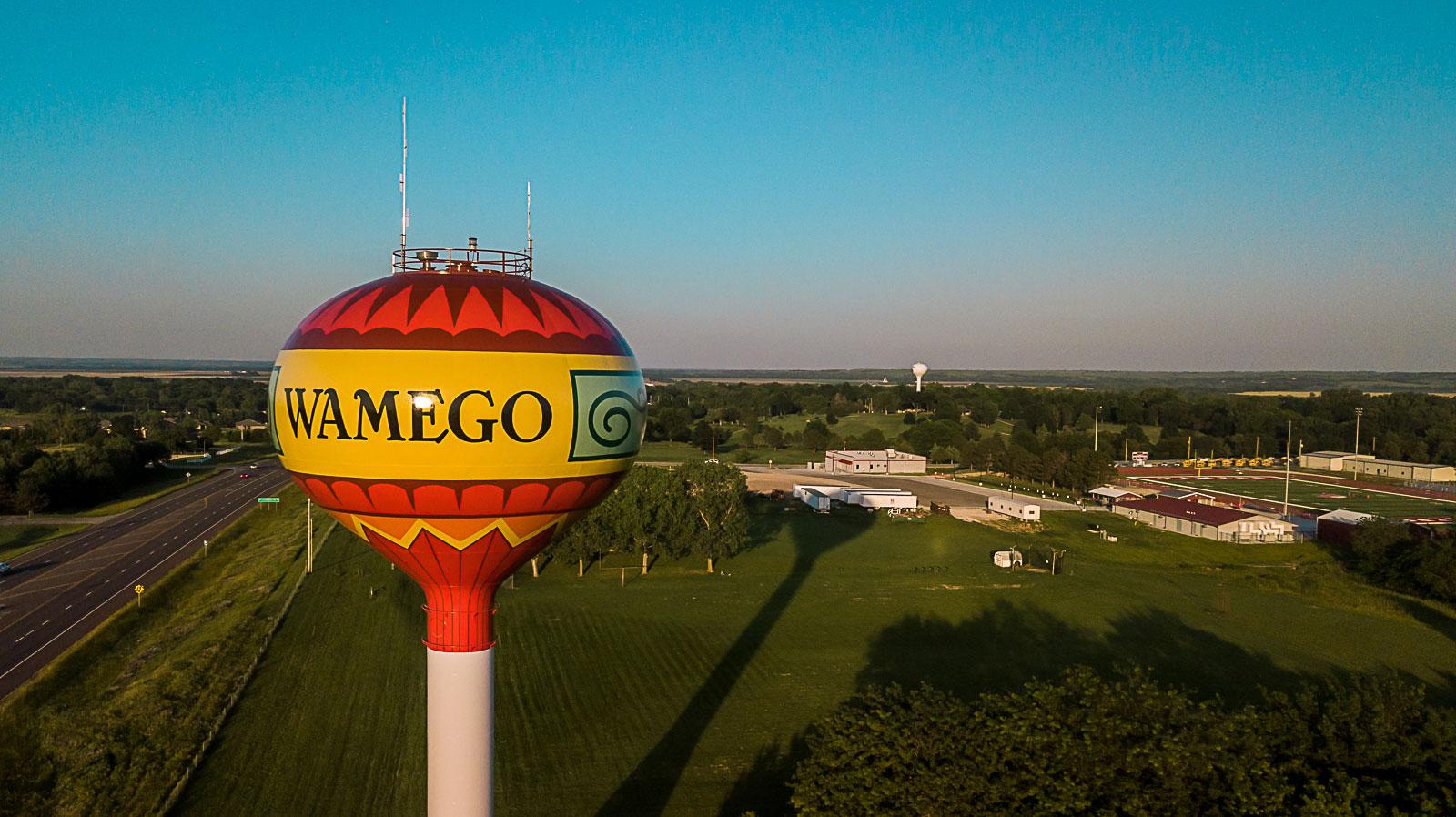 Wamego, Kansas, Water Tank, Tnemec Company, Hydroflon, Classic Protective Coatings